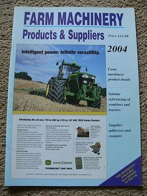 Farm Machinery Products & Suppliers. 2004. Reference Manual