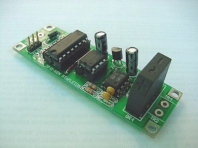 Block Detector/crossing Flasher For Dc Or Dcc Layouts