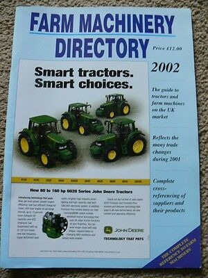 Farm Machinery Products & Suppliers. 2002. Reference Manual