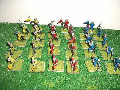 Medieval  Knights 40mm red,blue,yellow