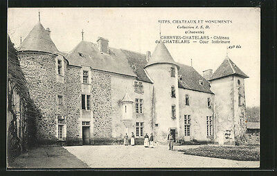 formidable CPA Cherves-Chatelars, Chateau