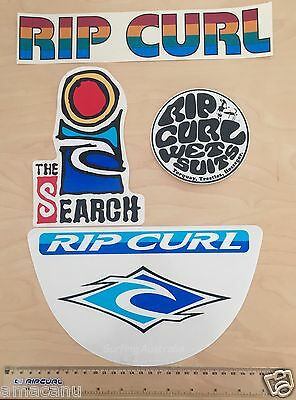 Rip Curl Stickers - 90's The Search surf surfboard wetsuit Surfing Curren Ocean
