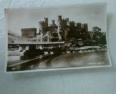 Postcard Conway Castle  Real Photo