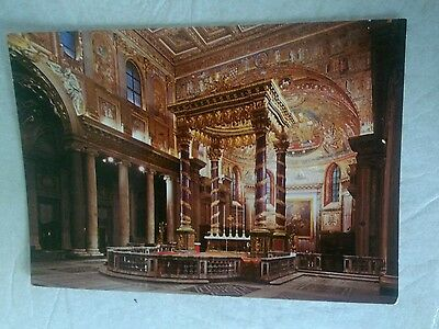 Postcard.    Basilica of St Mary the Greater