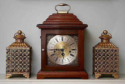 A Smart Hermle Westminster Musical Chime Bracket Clock in c18th Taste, GWO