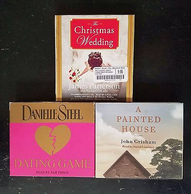 Lot of 3 Women's Fiction/Chick Lit/Romance Audiobooks on CD