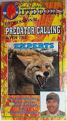 Predator Calling with the Experts, Calling Coyote Red Fox and Gray Fox.VHS 141