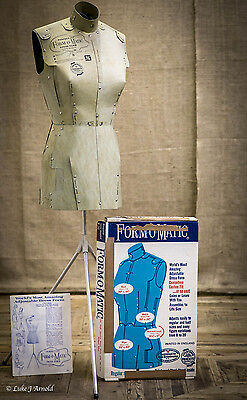 Vintage 1960's Card Mannequin - Form-O-Matic