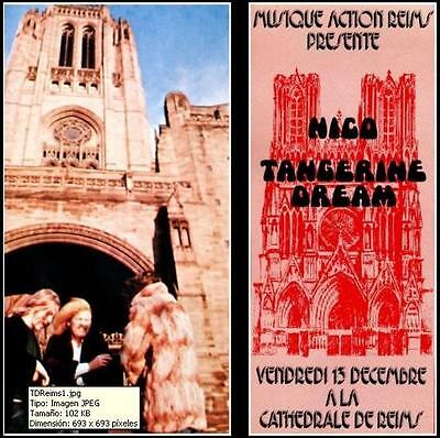 TANGERINE DREAM - Live in the Reims Cathedral, REIMS, FRANCE 1974 (double CD)