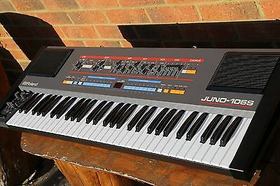 Roland Juno 106S Analogue Synth, imaculate re-build