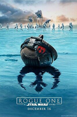 Rogue One A Star Wars Story 27x40 DS Light Box banner poster lightbox