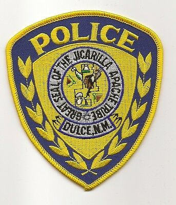 Dulce NEW MEXICO NM Police Jicarilla Apache Tribe Indian Tribal patch