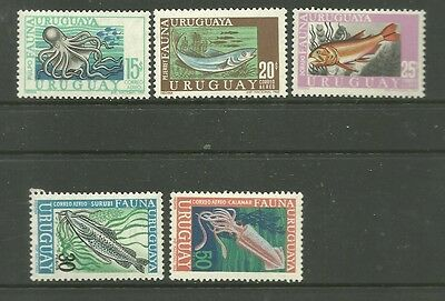Uruguay 1968 Mint Stamps