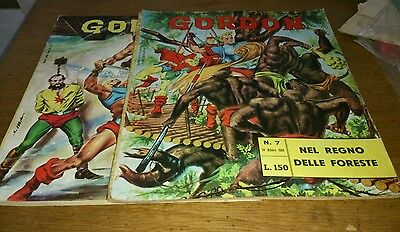 2 Flash Gordon Comics, 1964, Italian Text