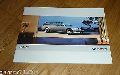 Subaru Legacy Sales Brochure 2008 40 Pages Mint