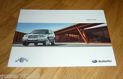 Subaru Forester Sales Brochure 2007 40 Pages Mint