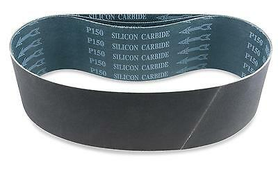 4 X 48 Inch 800 Grit Silicon Carbide Sanding Belts, 3 Pack