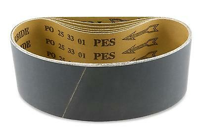 3 X 18 Inch 1000 Grit Silicon Carbide Sanding Belts, 8 Pack