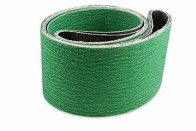 1/2 X 18 Inch 60 Grit Zirconia Air File Sanding Belts, 10 Pack