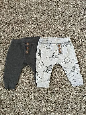 Baby Boys Next Trousers/ Joggers Up To 3 Months Grey