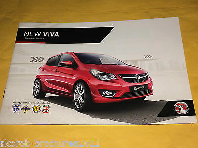VAUXHALL - The New Viva Sales Brochure 2016 Edition 1..