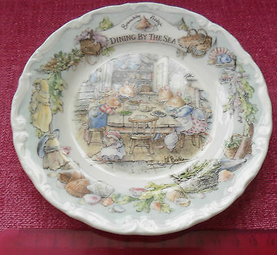 Royal Doulton Dining By The Sea Brambly Hedge 16Cm Tea Plate Perfect