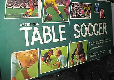 Table Soccer game. 1970's vintage Highly Collectable,