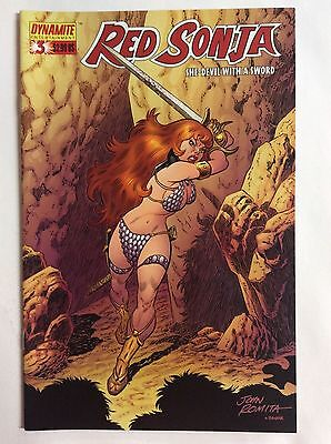 Red Sonja, She-Devil with a Sword #3 (Dynamite Entertainment)