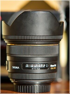 SIGMA 50mm f/1,4 EX HSM - Objectif CANON