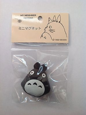 Studio Ghibli, My Neighber Totoro, Totoro plush Magnet, Dark Grey, New