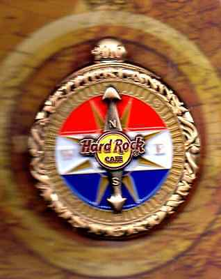 Hard Rock Cafe Amsterdam - Antique Compass Series Pin