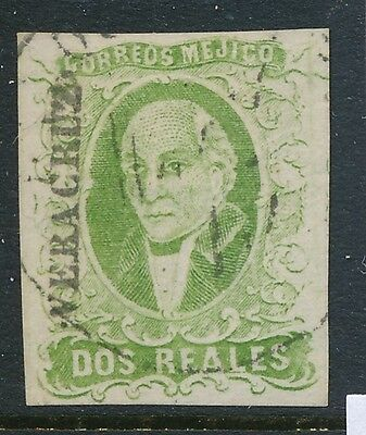 1856 Mexico stamps, USED , SCOTT # 3