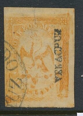 1864-1865 Mexico stamps, USED ,  SCOTT # 23c
