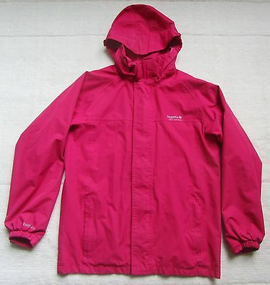 Regatta Red Waterproof Jacket, 32 Inches EUR 164, Height 157cm, Hood