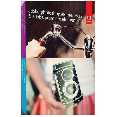 ADOBE PHSP + PREM Elements v12/FR Mlp 65226252 Seller Refurbished