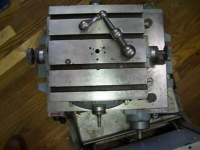 Advance Rotary Die Sinking cross slide table