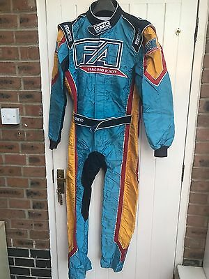 Genuine Sparco FA Alonso Kart Race Suit Size 54