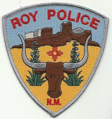 Roy NEW MEXICO NM Police patch long horn steer