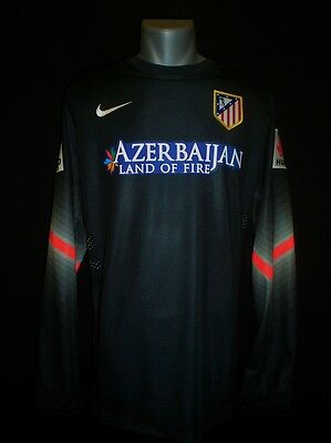 Camiseta Atletico De Madrid Player Issue Match Un Worn Goalkeeper Shirt Moyá