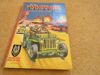 The Victor Book for Boys 1971