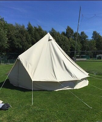 5m Bell Tent - Used twice this summer
