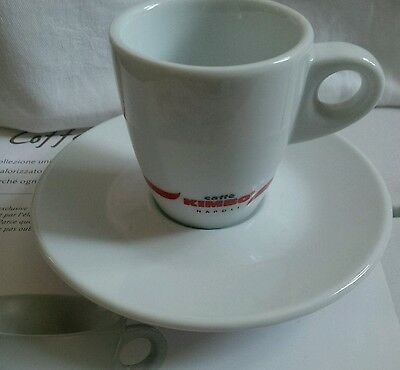 Kimbo espresso cups and saucers x 6 - New