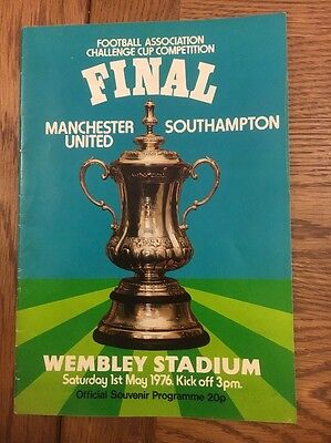 F.A Cup Final 1976 Programme