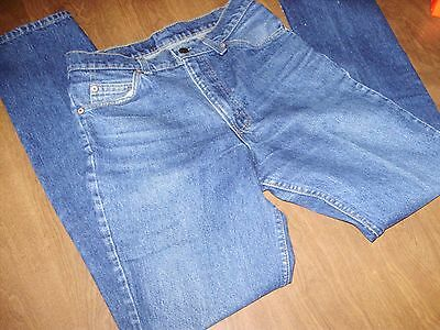 VINTAGE ORANGE TAB LEVIS 509 JEANS 29 x 33  made in USA nice fade & patina