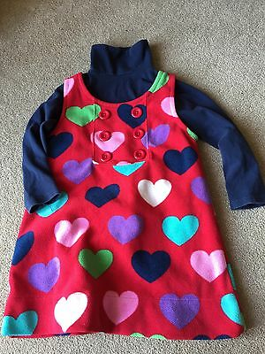 Next Dress And Polo Neck 3-4 Year
