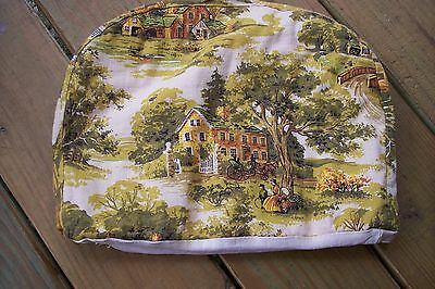 Vintage  TOILE Appliance Cover Country French look !!