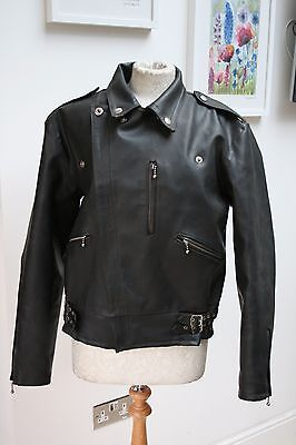 Vintage Black Belstaff Weather Wear Pvc/rubber Jacket Lightning Zip