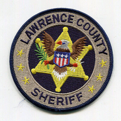 Lawrence County Mississippi Sheriff Patch  ---  FREE US SHIPPING!