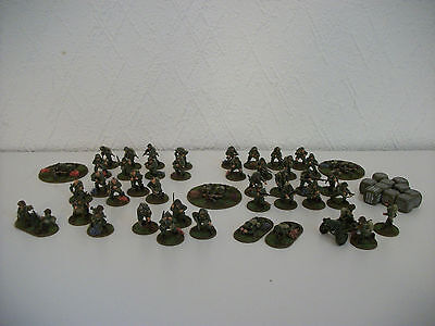 Painted 28mm bolt action ww2 Us Airborne 1000 pts Army