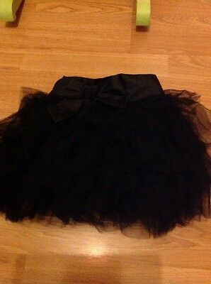Gorgeous Black Tutu Skirt By Next Size 3 - 4 Years
